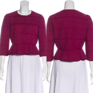 RED Valentino Evening Peplum Jacket